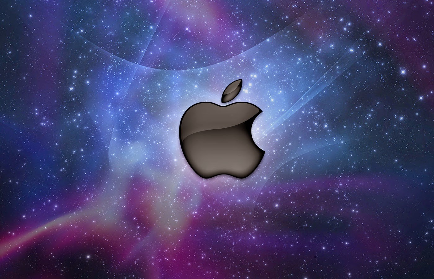 awesome 3d wallpaper: apple macintosh logo hd wallpapers