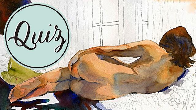 Figure Painting in Watercolor → http://schulmanart.blogspot.com/2015/05/figure-painting-in-watercolor-survey.html