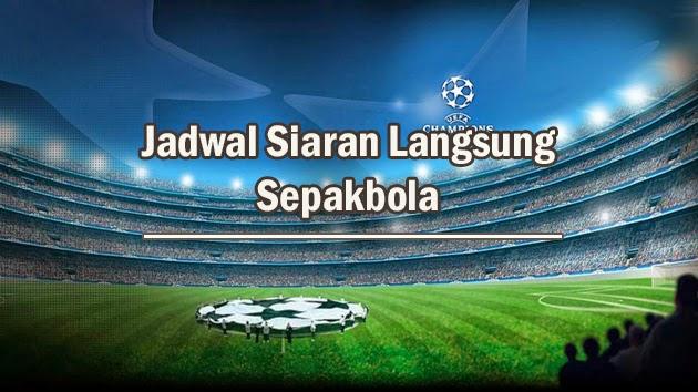 Jadwal Siaran Langsung Sepakbola by.Topbola.net
