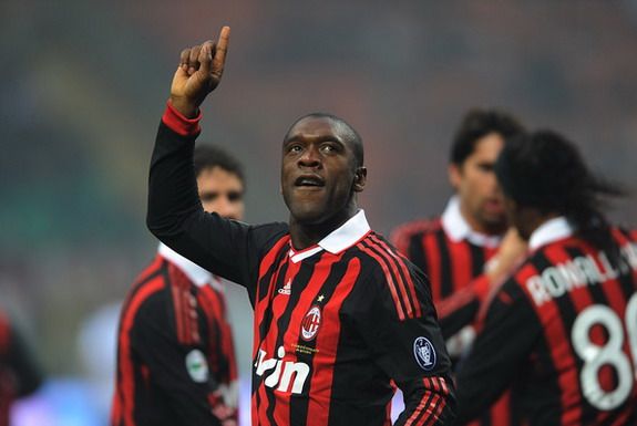 Clarence Seedorf had a successful 10-year playing career at AC Milan