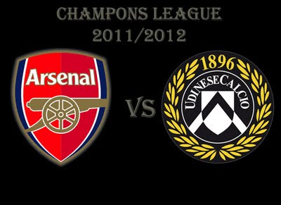 Arsenal vs Udinese Champions League qualifying first leg
