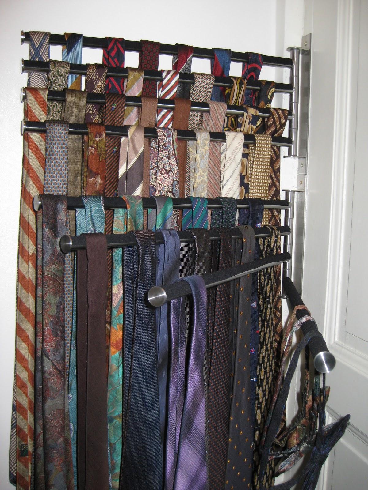 dressing story en diy un porte cravate pour lui special modespecial mode. Black Bedroom Furniture Sets. Home Design Ideas