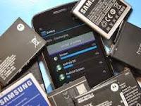 Ciri Baterai Smartphone Android Rusak