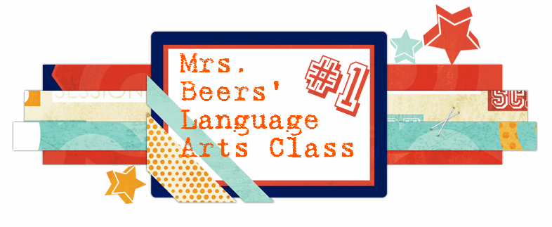 Mrs. Beers' 6th Grade Language Arts