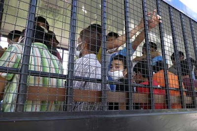 109 Muslim Uighur yang Dideportasi dari Thailand ke China Masih Ditahan
