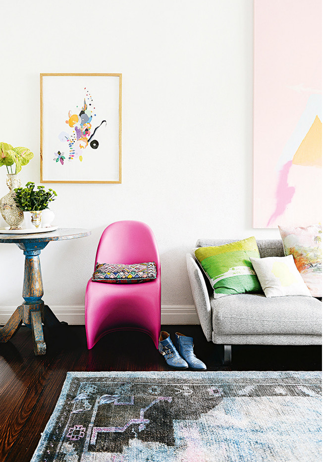 Beautiful and colourful Melbourne apartment