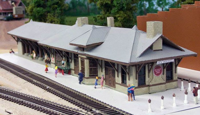 Painting Model Train Engines Ho Scale Train Station Plans