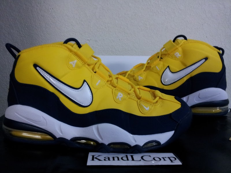 Nike Uptempo Yellow