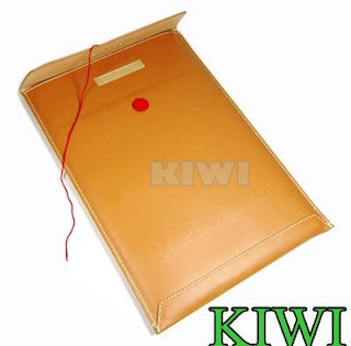 Brown PU Leather Envelope Bag/Sleeve/Case for NEW macbook AIR 11.6 11 A1370