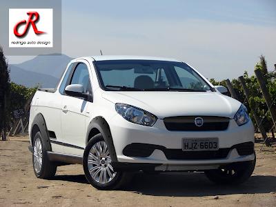Rodrigo auto Design: Nova Fiat Strada 2014