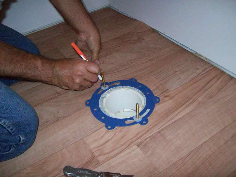Mike and Lisa\'s World: Chapter 31...Toilet Install And Wind Generators