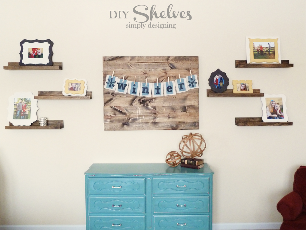 DIY Knock-Off Shelves | how to make knock-off shelves with a Kreg Jig | #diy #shelves #knockoff