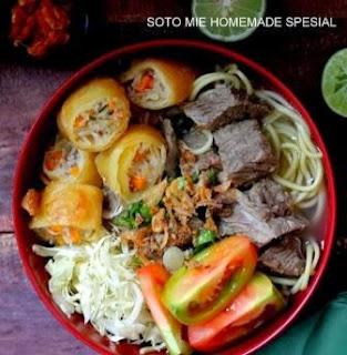 Resep Soto Mie Risol Khas Bogor Homemade