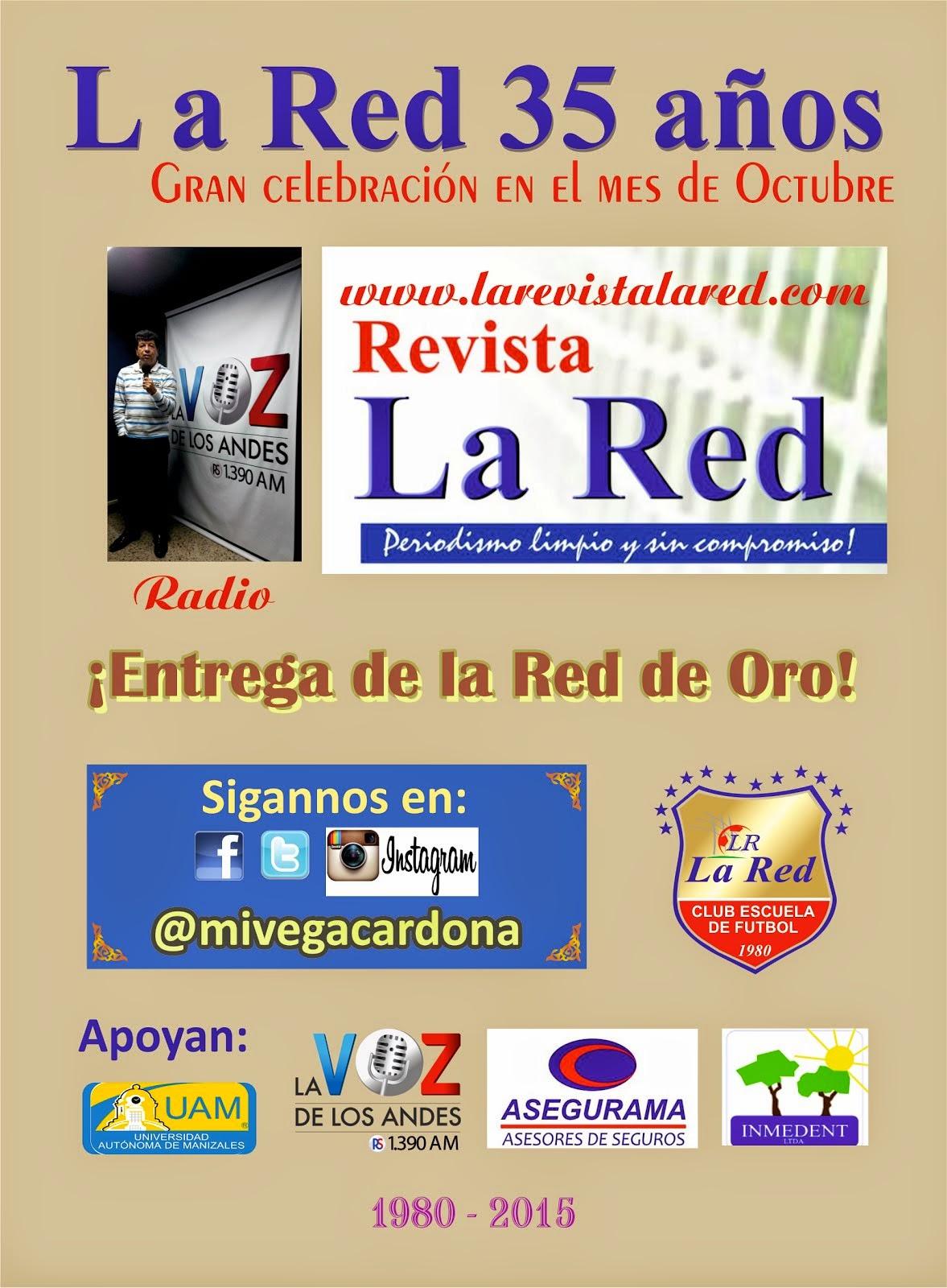 LA RED 35 AÑOS