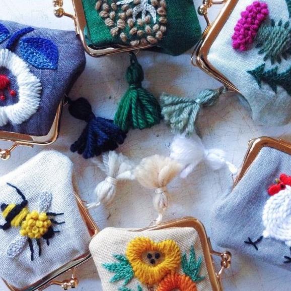 Mini Pouches by Yumiko Higuchi
