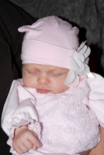 Meet Miss O, sweet baby Olivia, my newest grandchild