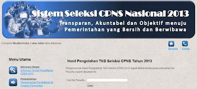 BKN di http://sscn.bkn.go.id