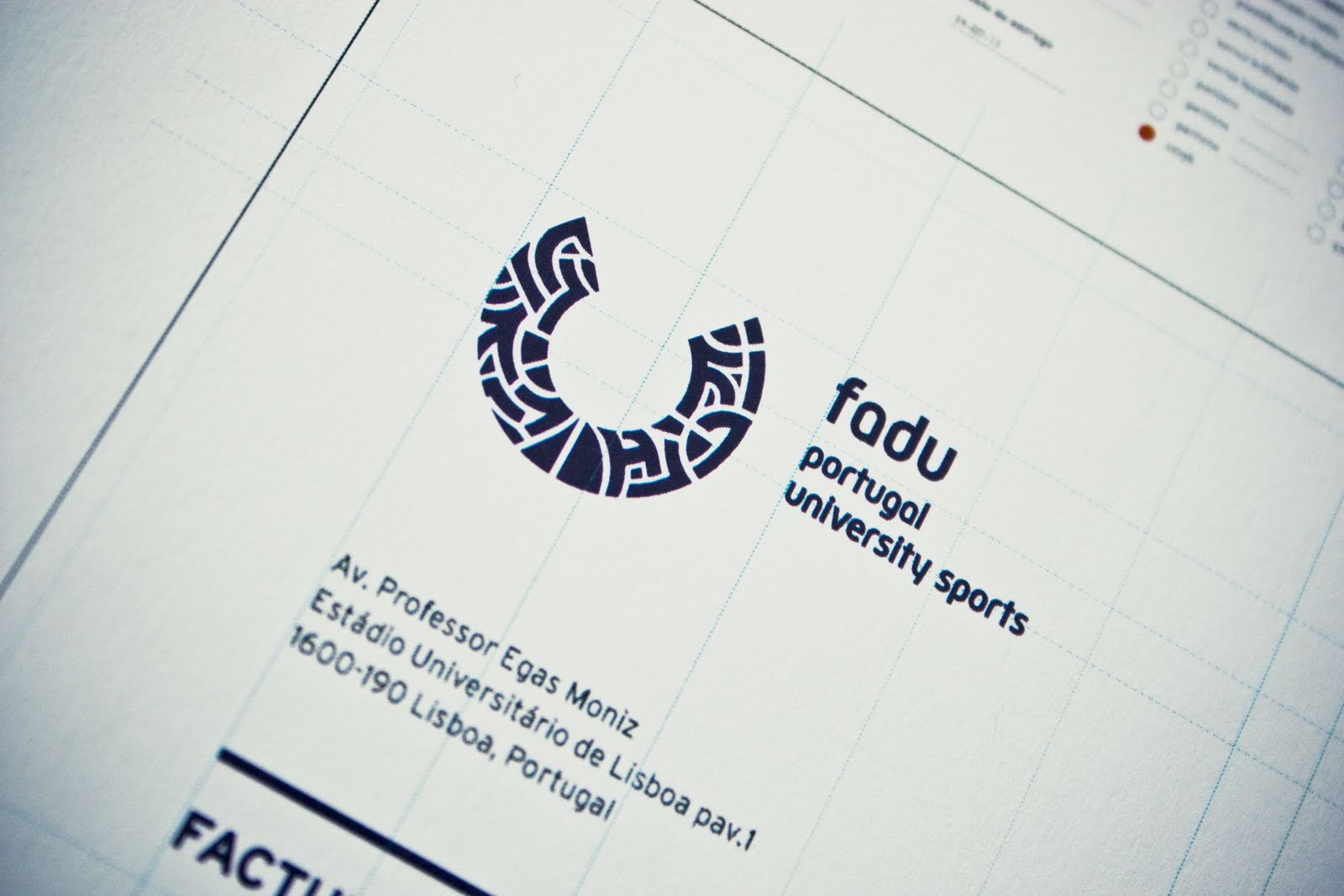 FADU logo by Gen Design Studio