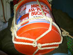 Rope Strengthens my 'Sea Anchor Bucket'
