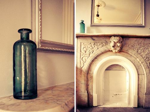 Brooklyn apartment brownstone fire place