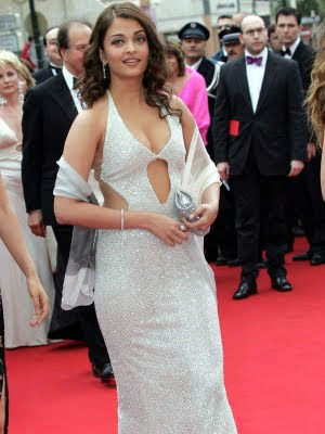 Aishwarya in white gown dress at cannes