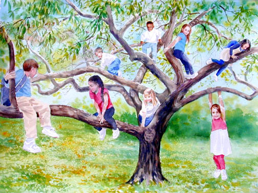 learn how to climb trees