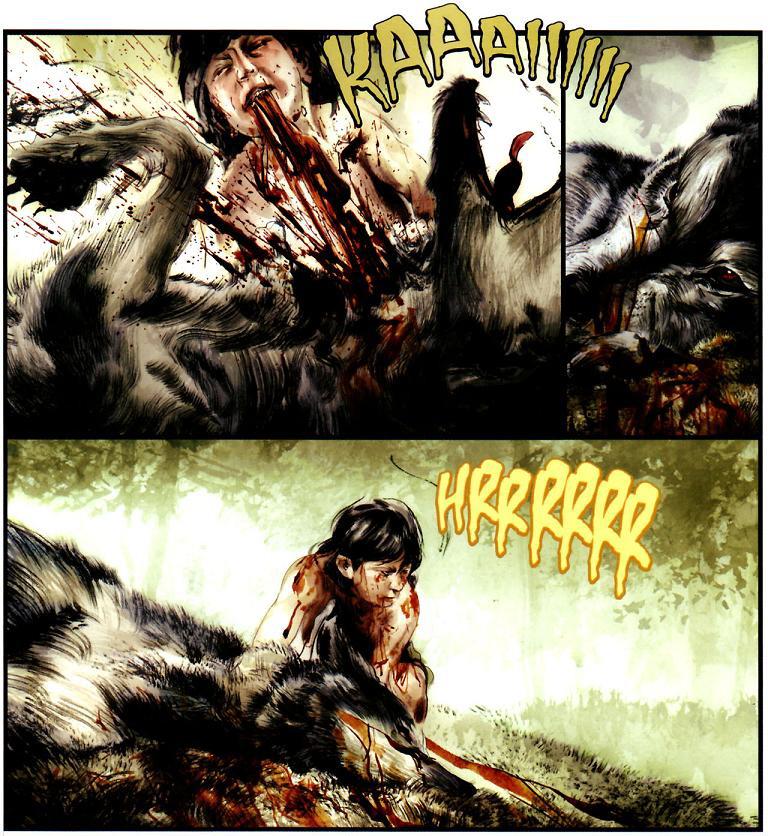 Conan -  La Leyenda nº 0: Nacido en el campo de Batalla detalles de Greg Ruth