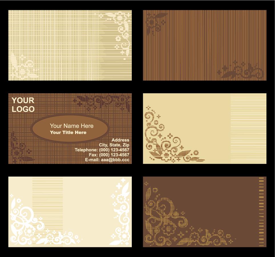 ヴィンテージな背景のカード テンプレート vintage background card template イラスト素材1