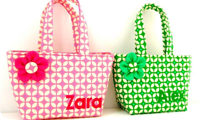 Elisanna twee kleine tasjes voor twee kleine meisjes - Klein meisje idee ...