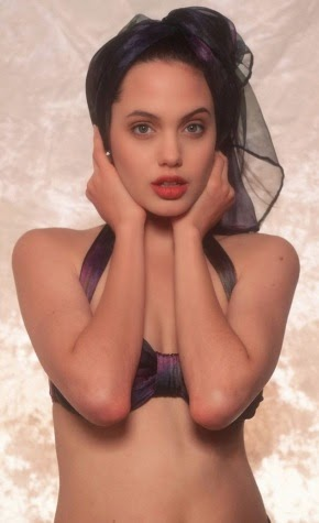 Welcome to Linda Ikejis Blog  Unseen photos of Angelina Jolie as