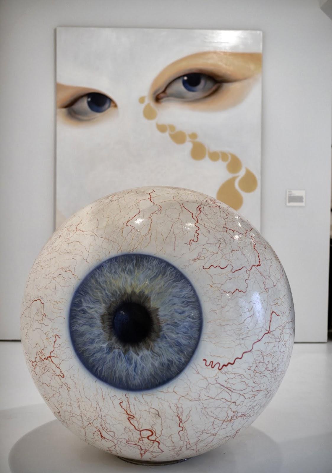 Art, Frederick R. Weisman Art Foundation, Mana Contemporary Art Center, New Jersey, Pop Culture, Exhibition, Museum, Sculpture, Eye, Creation, Offbeat, News,