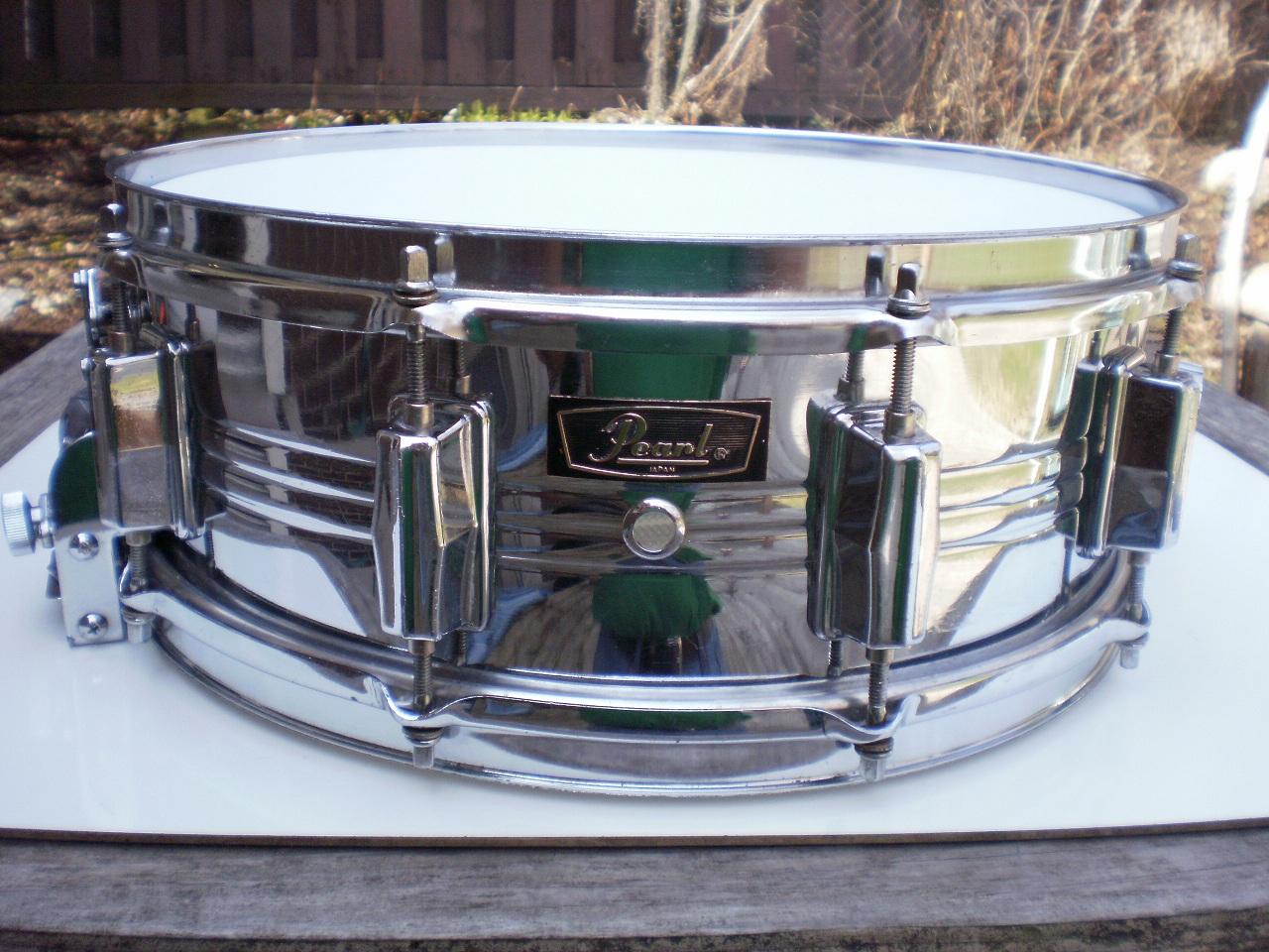 Tumbling Boulders Drums: Pearl Jupiter Snare - 5 x 14 COB