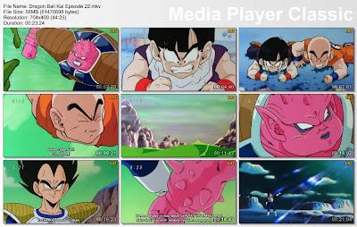 """Download Film / Anime Dragon Ball Kai Episode 22 """"Ketakutan Karena dikejar oleh DOdoria! Terungkapnya Kebenaran Bagi Vegeta"""" Bahasa Indonesia"""