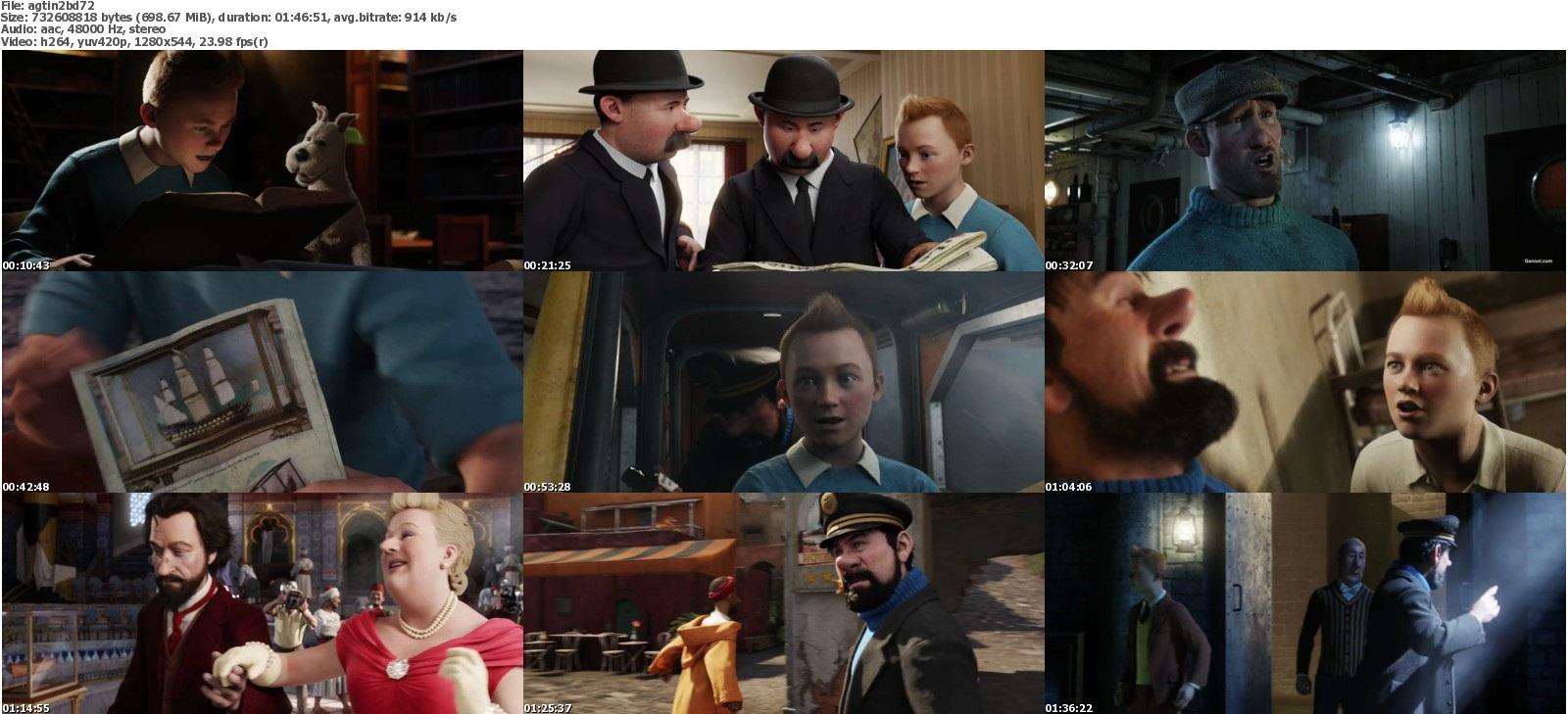 Adventure Of Tintin Full Movie In Hindi Mb