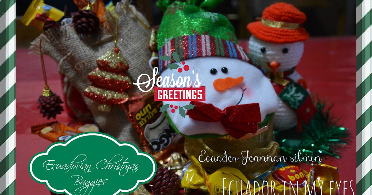 Ecuador Joannan silmin - Ecuador in my eyes: Ecuadorian Christmas ...