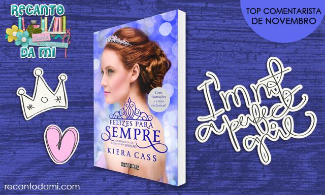 Promoção Livro Felizes para sempre Kiera Cass Editora Seguinte