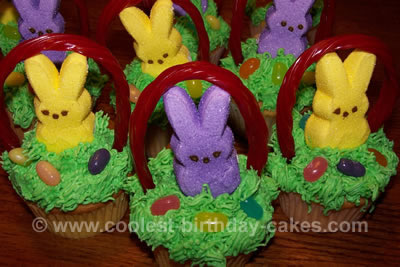Easy Easter Cupcake Cakes Ideas