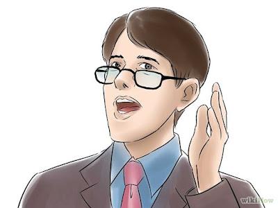 Un orador trinufador