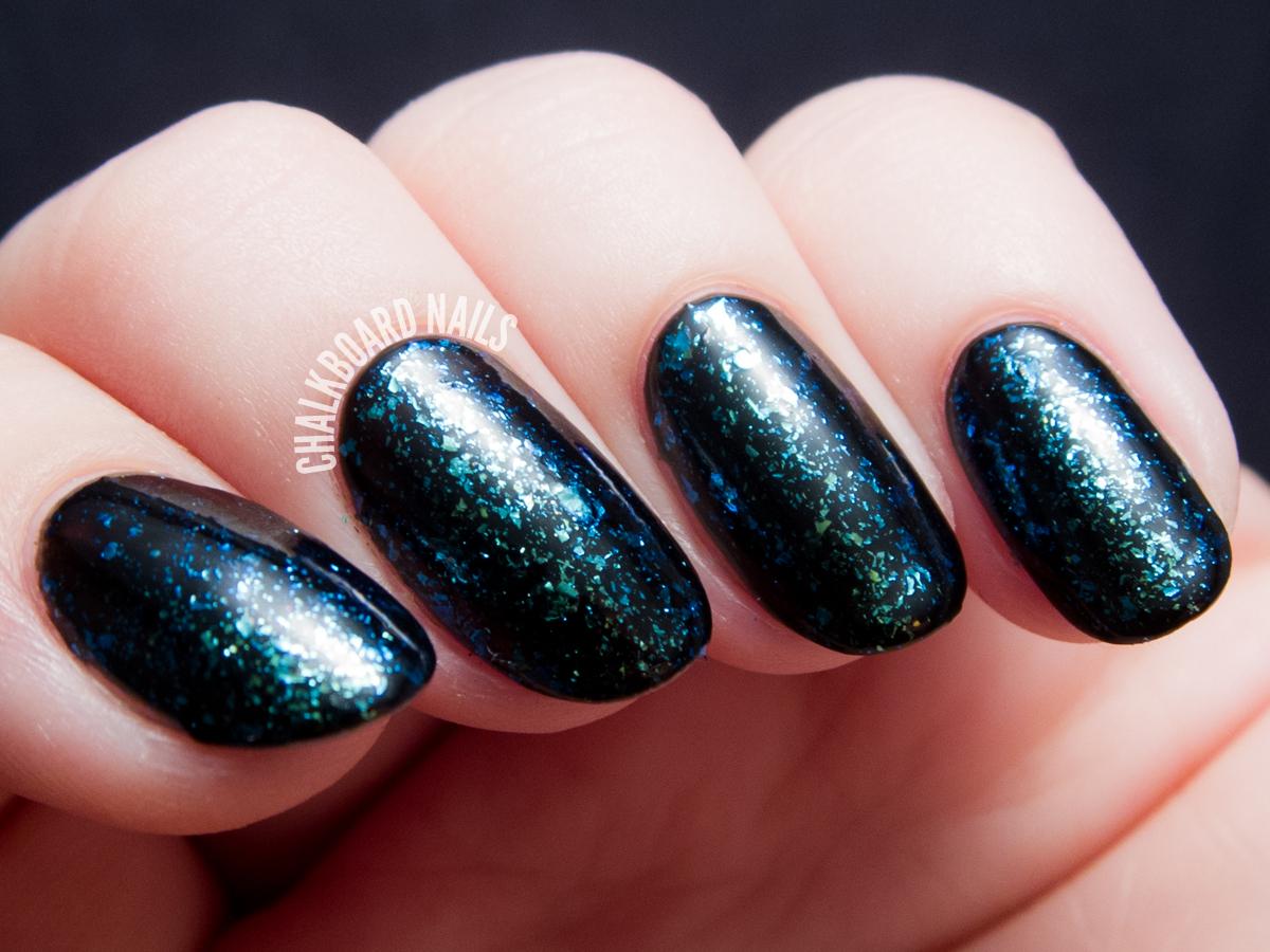 I Love Nail Polish - Gaia via @chalkboardnails