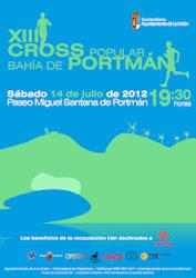 Cross Bahía de Portmán 2012.