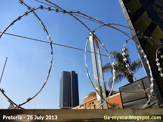 Pretoria's Monument for Victims of Terrorism
