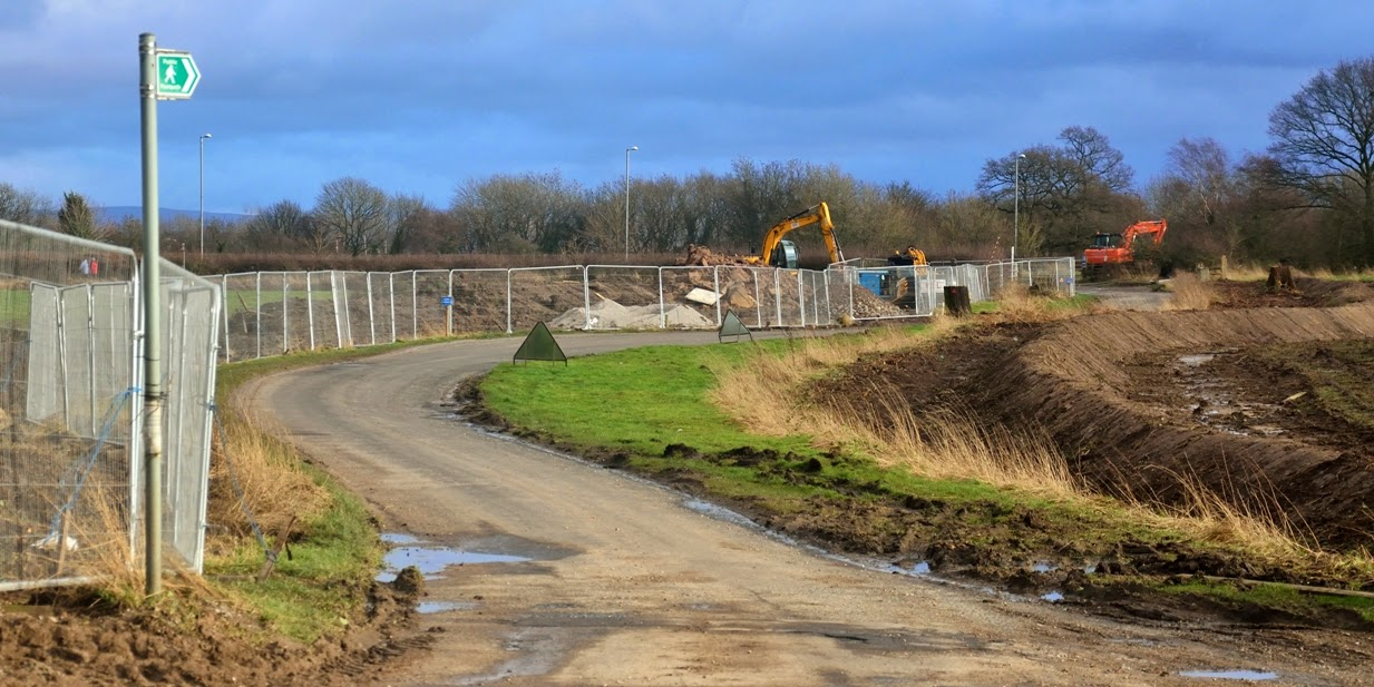 construction work for Manchester Airport Enterprise Zone