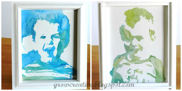 easy watercolor portraits