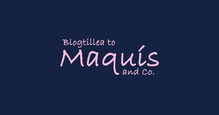 BLOGTILLEA TO MAQUÍS AND CO