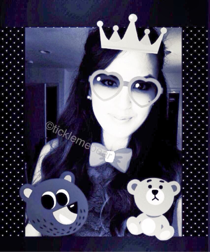Ticklemebear Sticker Selfies Photogrid App