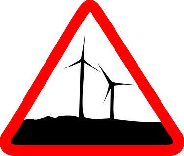 Danger ! éoliennes !