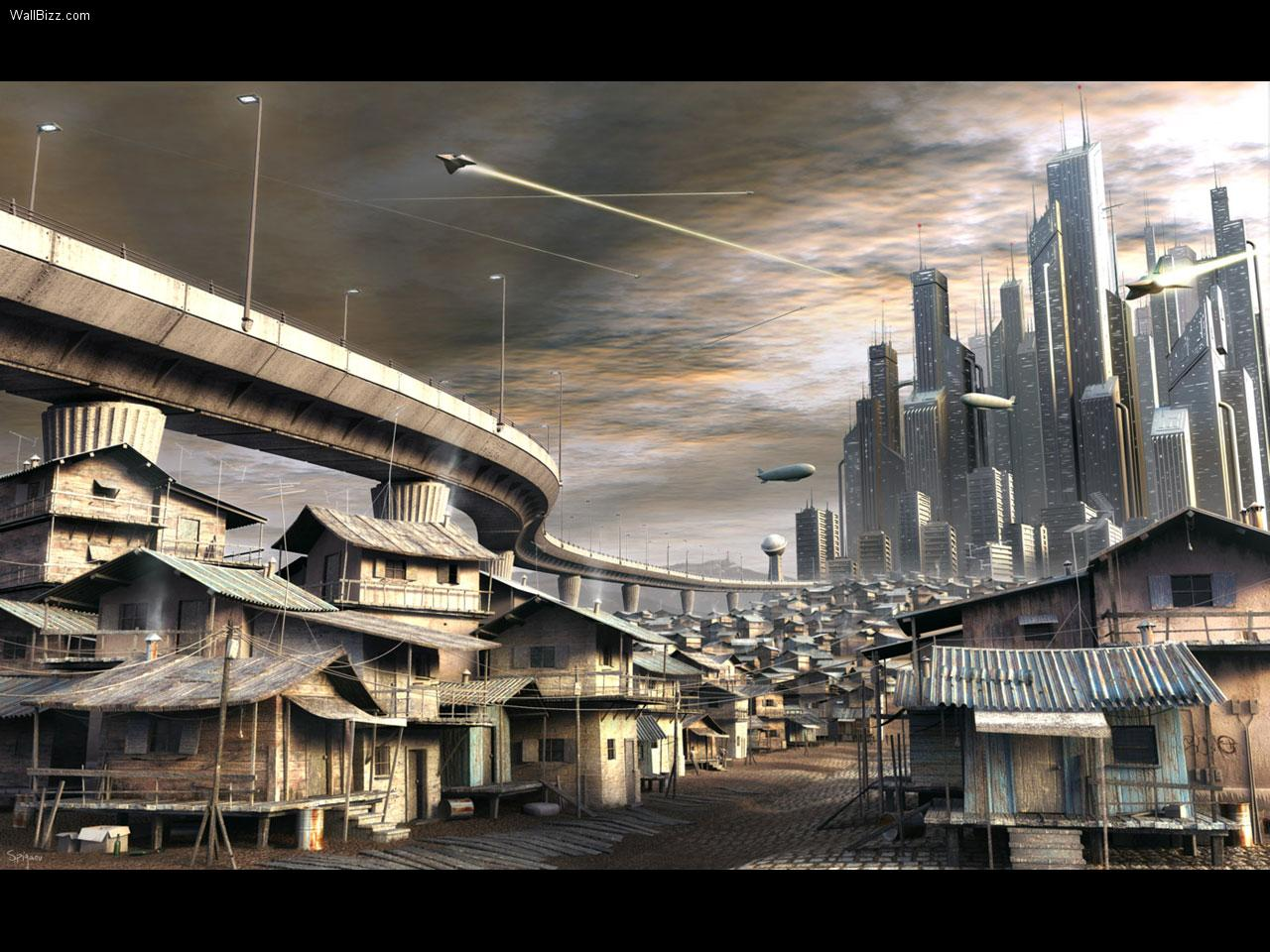 art futuristic cities - photo #35
