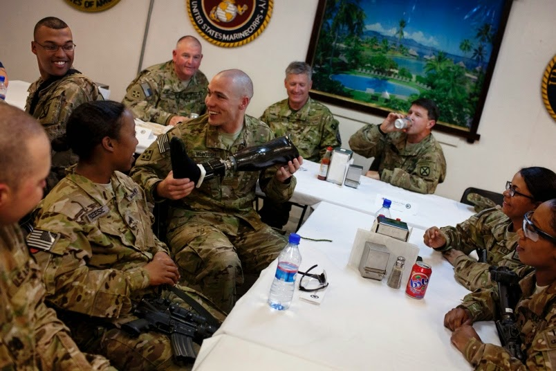 Military News - Wounded US veterans wanted closure, find it back in Afghanistan