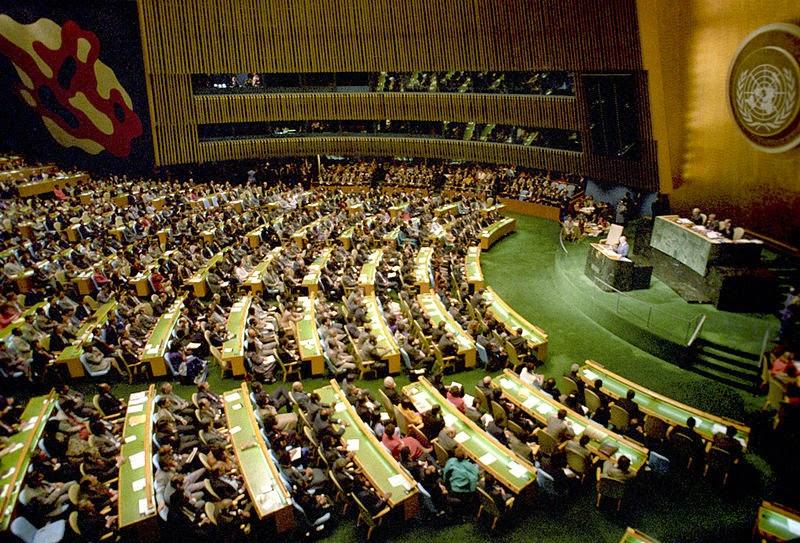 La Asamblea General de la UNO