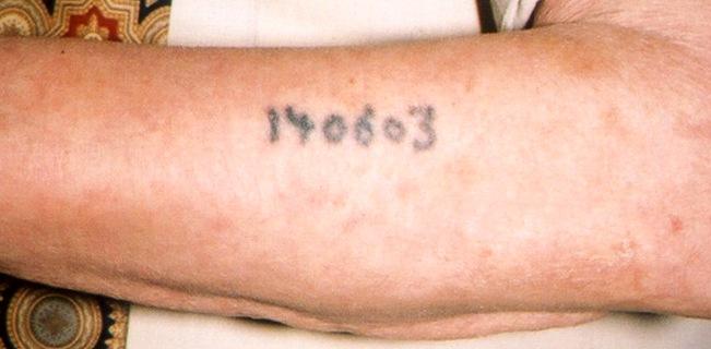 Holocaust Tattoos